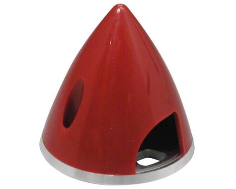 """Spinner 1-3 4"""" Nylon Aluminum Red"""