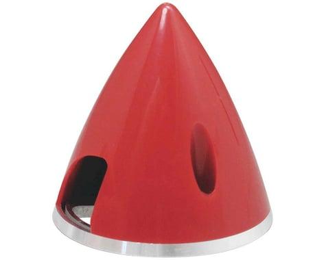 Great Planes Spinner 2  Nylon Alum Red