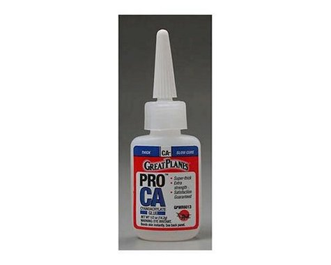Great Planes Pro CA- Glue Thick 1 2 oz