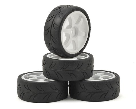 Gravity RC USGT Pre-Mounted GT Rubber Tires