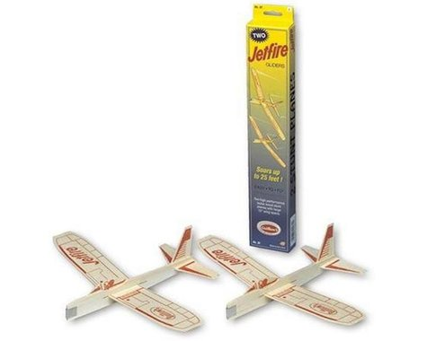 Guillow Balsa Glider Jetfire Twin Pack