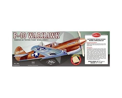 Guillow Curtiss P40 Warhawk Laser Cut