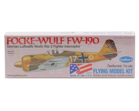 Guillow Focke-Wulf FW-190 Flying Model Kit