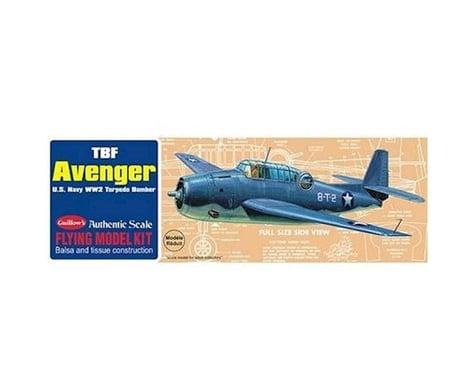 """Guillow Grumman TBF Avenger Kit, 16.5"""""""