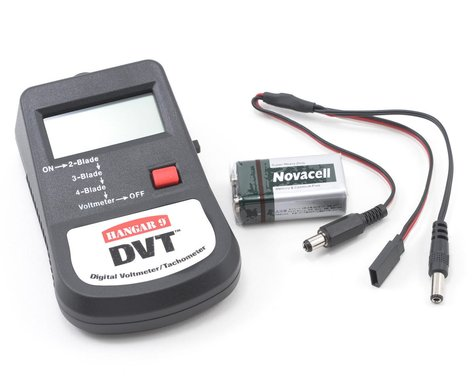 Hangar 9 DVT Digital Voltmeter/Tachometer
