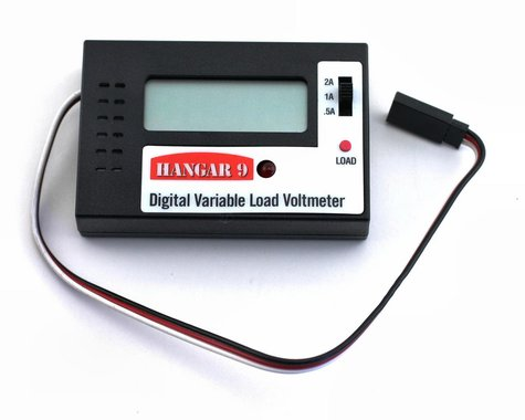 Hangar 9 Digital Variable Load Voltmeter