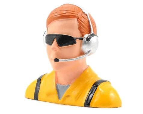 "Hangar 9 ""Civilian"" Pilot Figure w/Headset, Mic & Sunglasses (Yellow) (1/4)"