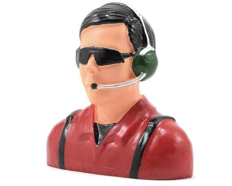 "Hangar 9 ""Civilian"" Pilot Figure w/Headset, Mic & Sunglasses (Red) (1/4)"