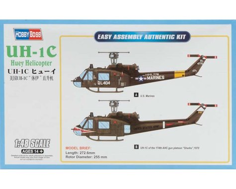 Hobby Boss HY85803 1/48 UH-1C Huey Helicopter