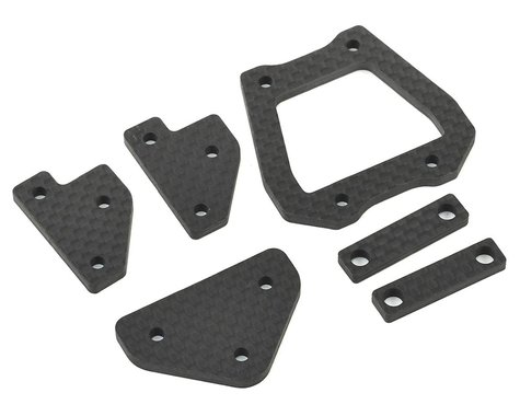 HB Racing E817/E817T Carbon Chassis Brace Set
