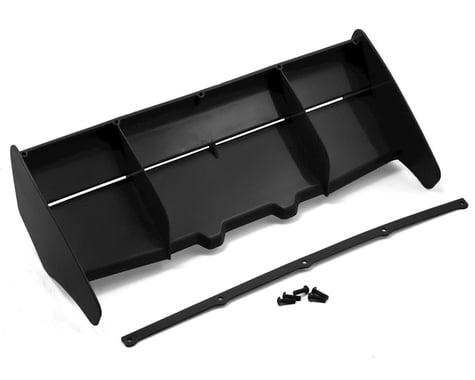 HB Racing 1/8 Rear Plastic Wing (Black)