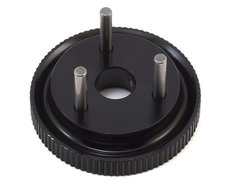 HB Racing 3-Pin D817 V2 Flywheel (Hard Black)
