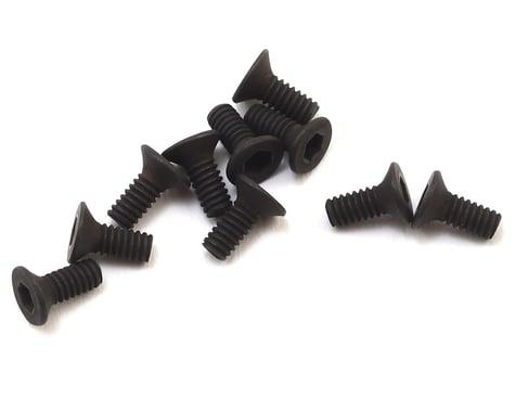 HB Racing 2x5mm Flat Head Hex Screw (10) (1.5mm Hex)
