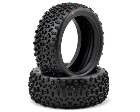 HB Racing Proto 1/8 Buggy Tire (2) (Red)