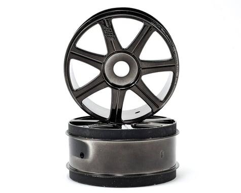 HB Racing HB Edge Wheels (2) (Black Chrome)