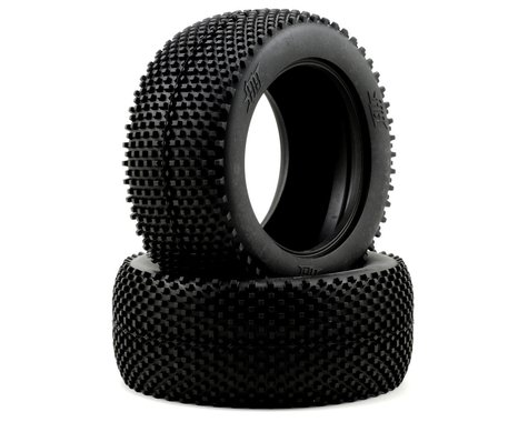 HB Racing Block 1/8 Truggy Tire (2) (Red)