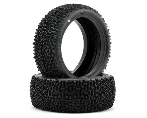 HB Racing Megagrid 1/8 Buggy Tire (2) (White)