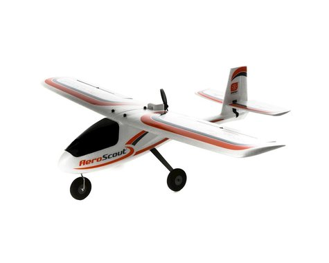 HobbyZone AeroScout S 1.1m RTF Trainer Electric Airplane (1095mm)