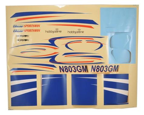 HobbyZone Glasair Decal Sheet