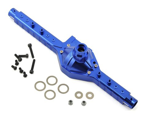 Helion Rock Rider Aluminum Rear Axle Housing (Blue)
