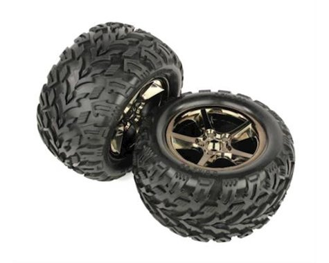 Helion HLNS1203 Wheel And Tire (Select Four 10TR)