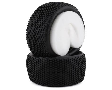 HotRace Bangkok Turf/Carpet 1/10th Off Road Buggy Rear Tires w/Inserts (2) (Medium)