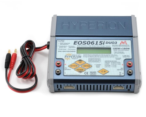 Hyperion EOS 0615i Duo3 Dual Li/NiMH/A123 Balancing Charger (6S/15A/360W)