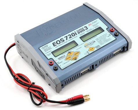 Hyperion EOS 0720i Super Duo Dual Li/NiMH/A123 Balancing Charger (7S/20A/500W)