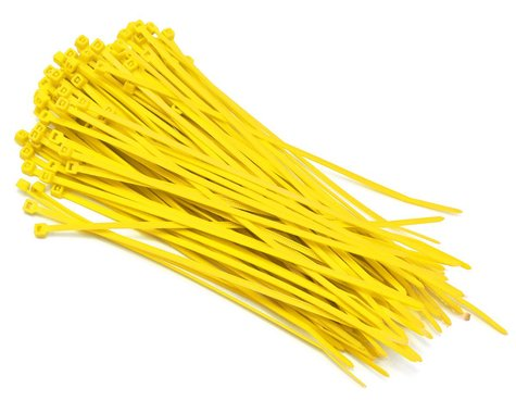 Hyperion Nylon Cable Zip Tie 3x150mm 100pcs (Yellow)
