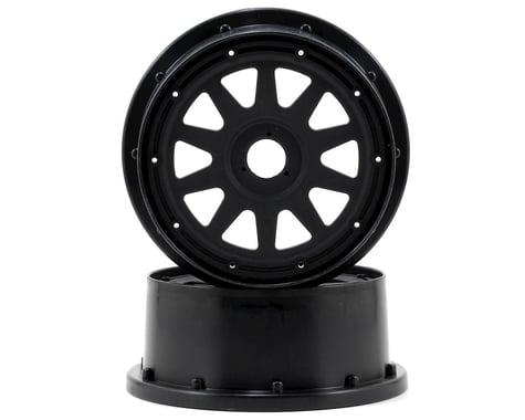 HPI TR-10 Baja 5SC Front Wheel (2) (120x60mm/-4mm Offset) (Black)