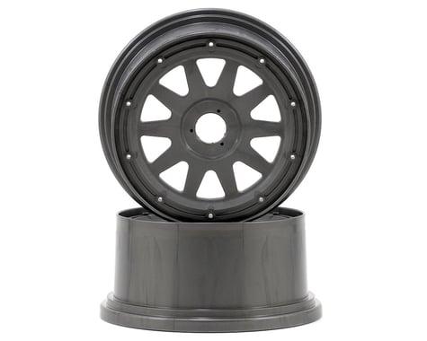 HPI TR-10 Baja 5SC Rear Wheel (Gun Metal) (2) (120x65mm/-10mm Offset)