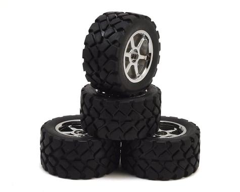 HPI Mini Recon Mounted VT Tire/Wheel Set (4)