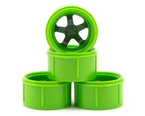 HPI Work Meister S1 Wheel Green Micro RS4 (4) HPI112817