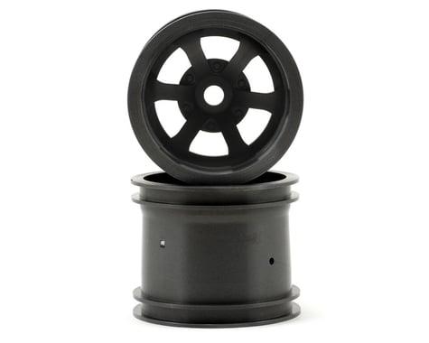 """HPI Scorch 6-Spoke 2.2"""" Truck Wheels w/Universal Adapter (2) (Gun Metal)"""