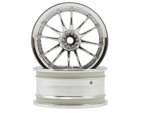 "HPI 12mm Hex 26mm ""Work XSA 02 C"" Wheel (2) (9mm Offset) (Chrome)"