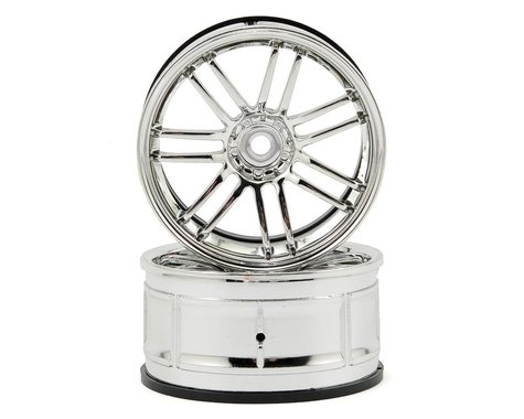 HPI 12mm Hex LP29 Rays VolkRacing RE30 Wheels (2) (3mm Offset) (Chrome)