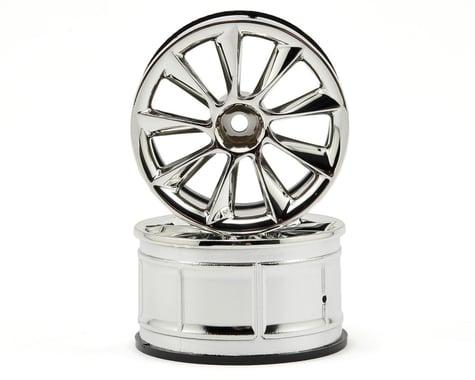 HPI LP32 ATG RS8 Wheels (2) (6mm Offset) (Chrome)
