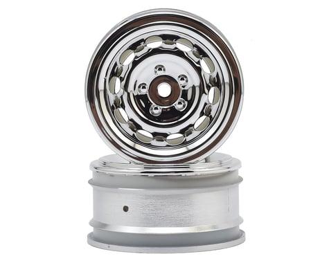 HPI 12mm Hex 26mm Vintage CC Wheel (2) (0mm Offset) (Chrome)