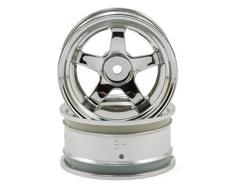 HPI Work Meister S1 26mm Wheel (Chrome) (2) (6mm Offset)