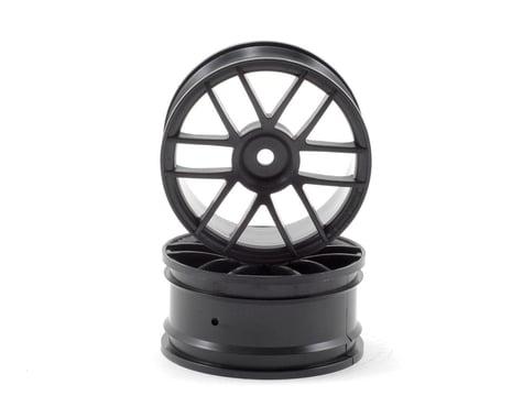 HPI 12mm Hex 26mm Split 6 Wheel (2) (Black)