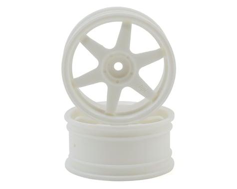 HPI 26mm TE37 Wheel (White) (2) (3mm Offset)