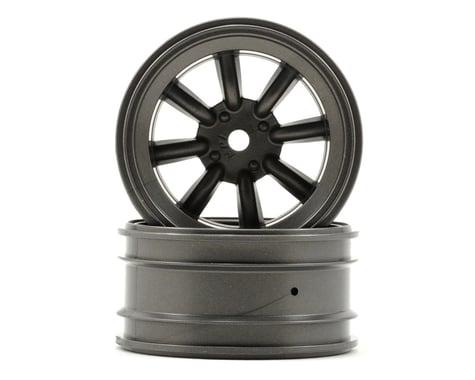 HPI 12mm Hex MX60 8 Spoke Wheel (2) (6mm Offset) (Gun Metal)