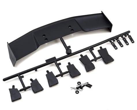HPI Plastic 1/10 GT Wing Set (Black)