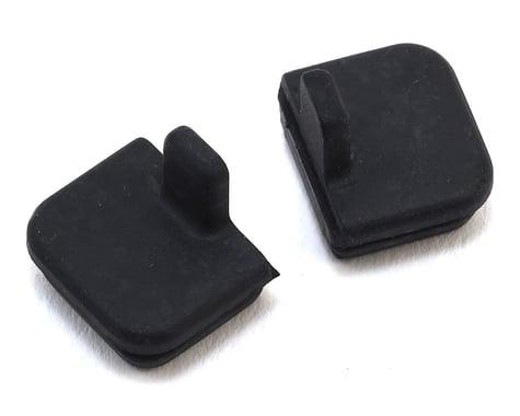 HPI 10x11mm Rubber Cap Set (Black) (2)