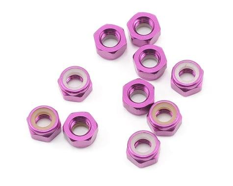 HPI M5 Aluminum Locknut (Purple) (10)