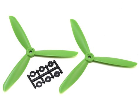 HQ Prop 6x4.5x3 Propeller (Green) (2) (CW)