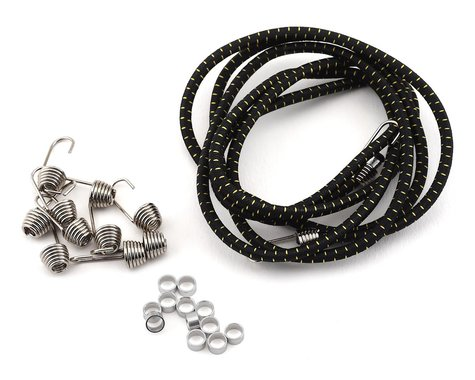 Hot Racing 1/10 Bungee Cord Kit (Black/Gold)
