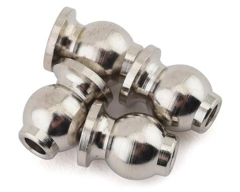 Hot Racing Arrma 6S 3x7.8x10.5mm Steel Chrome Pivot Ball (Chrome) (4)