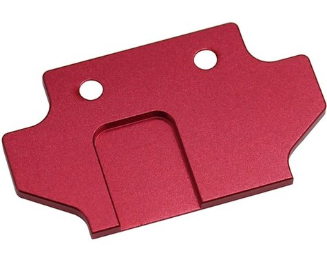 Hot Racing Kraton/Typhon 6S BLX Aluminum Flush Fit Skid Plate Mount (Red)