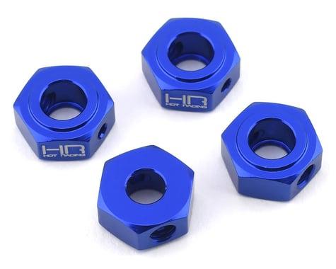 Hot Racing Losi Baja Rey/Rock Rey Aluminum Hex Adapter Set (Blue) (4)